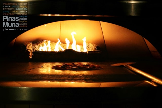 California Pizza Kitchen oven