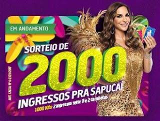 Promoção Guanabara Supermercados 2018 Carnaval Ingressos Sapucaí
