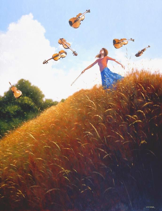 Entre os Gabaritos e as Bobinas - Um mundo encantador pintado por Jimmy Lawlor