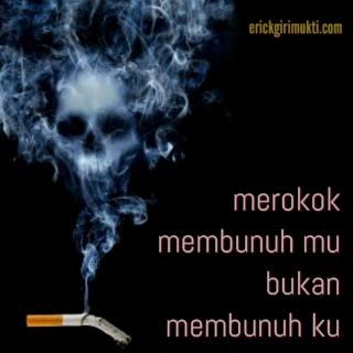 gambar kata kata merokok tentang rokok