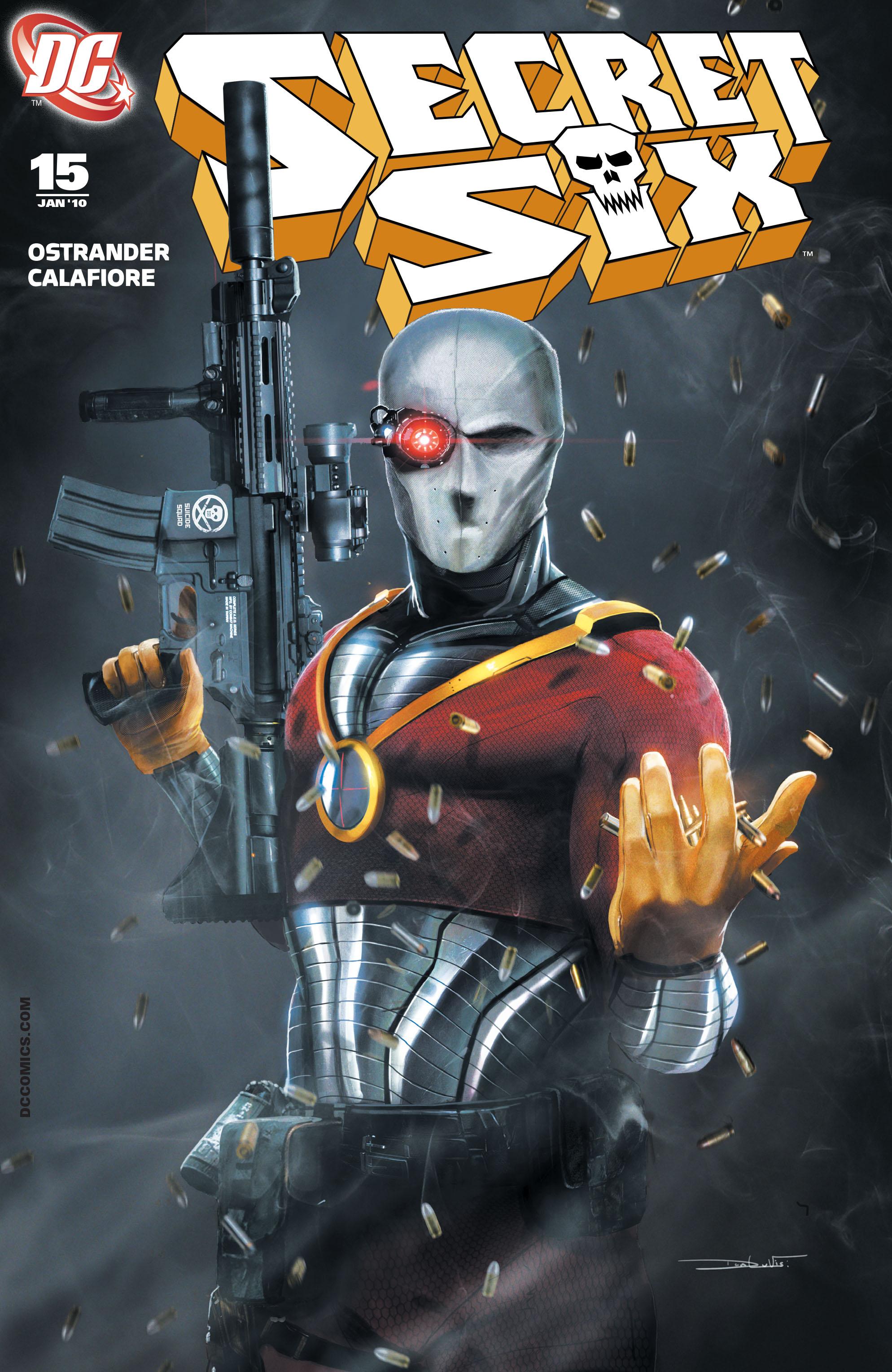 Read online Secret Six (2008) comic -  Issue #15 - 1