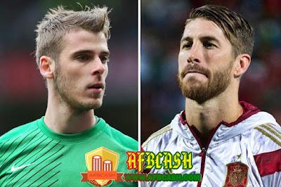 Real Madrid telah melakukan penandataganan kontrak ke Manchester United dengan mentranfer David De Gea dan Sergio Ramos ~ AFBCASH.COM
