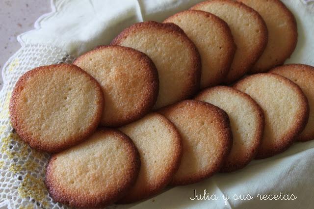 Pastas finas de mantequilla. Julia y sus recetas