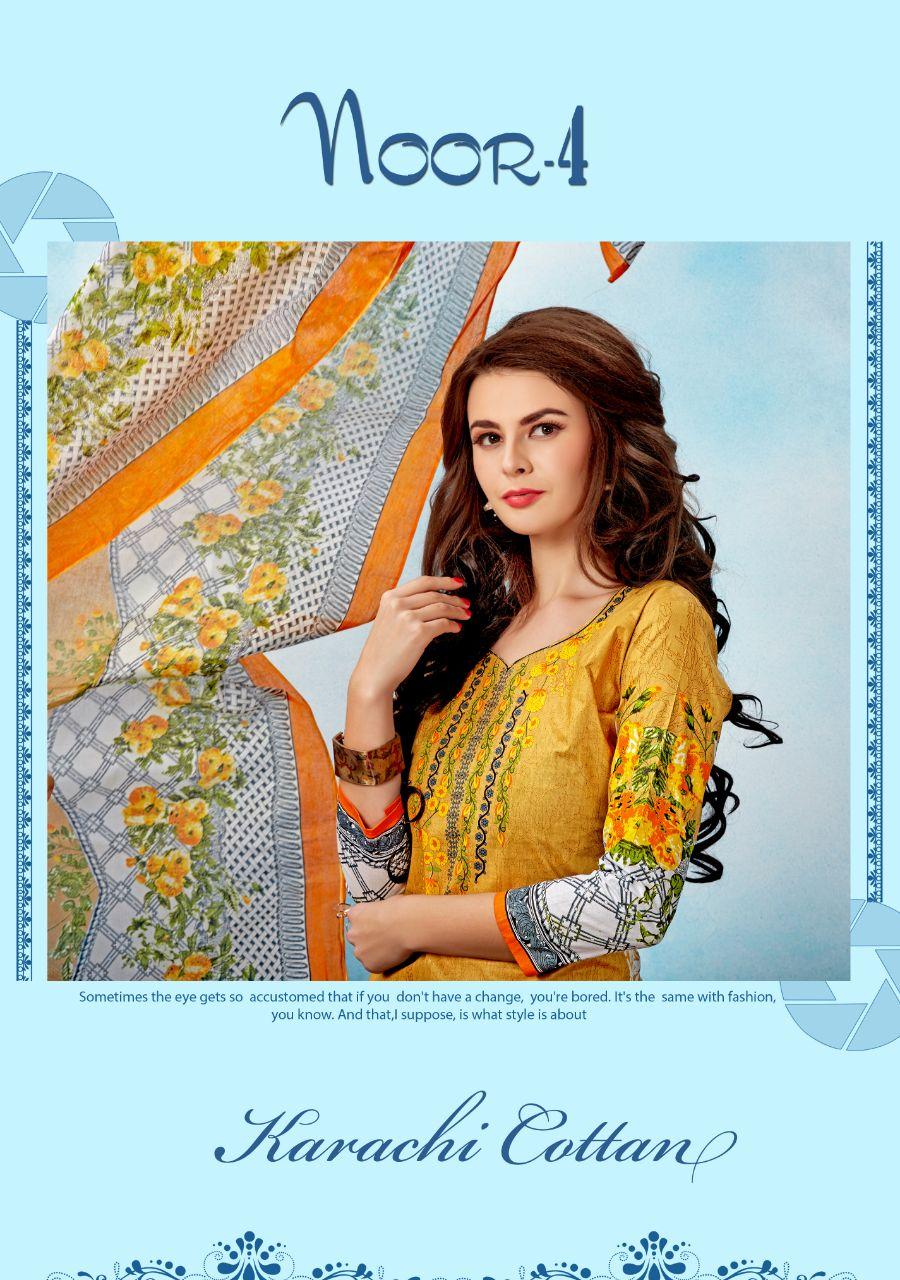 KARACHI COTTON VOL 4-New Arrival Designer Cotton Dress Material