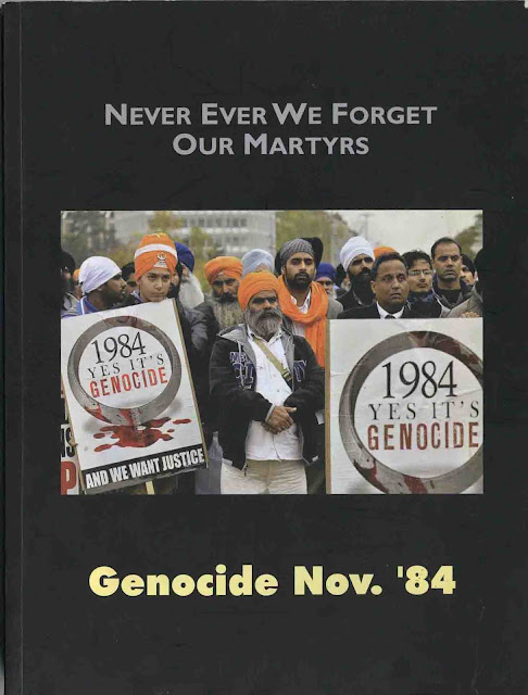 Never Ever We Forget Our Martyrs - Genocide Nov 1984