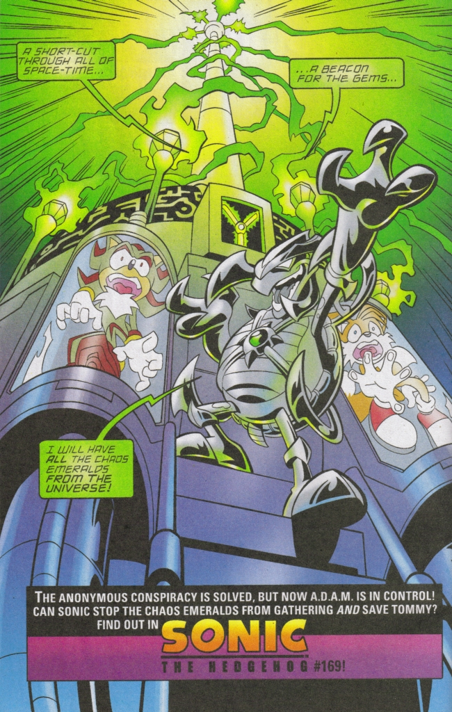 Read online Sonic The Hedgehog comic -  Issue #168 - 34