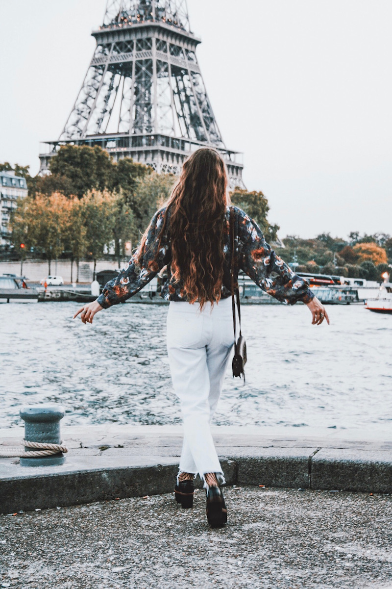 blog mode tenue du jour paris 2017 octobre tendance tumblr long hair