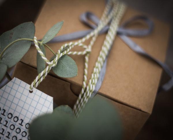 Geschenkverpackung für Nerds