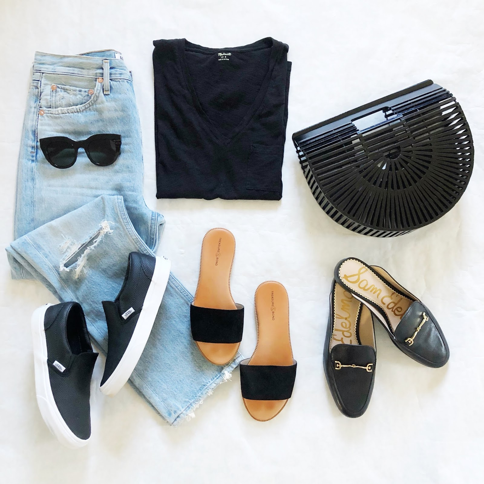 sports shoes a323a 1e02b above  I love how a pair of shoes can totally transform the feel of an  outfit... sneakers, sandals or loafers would all work equally well with  this jeans ...