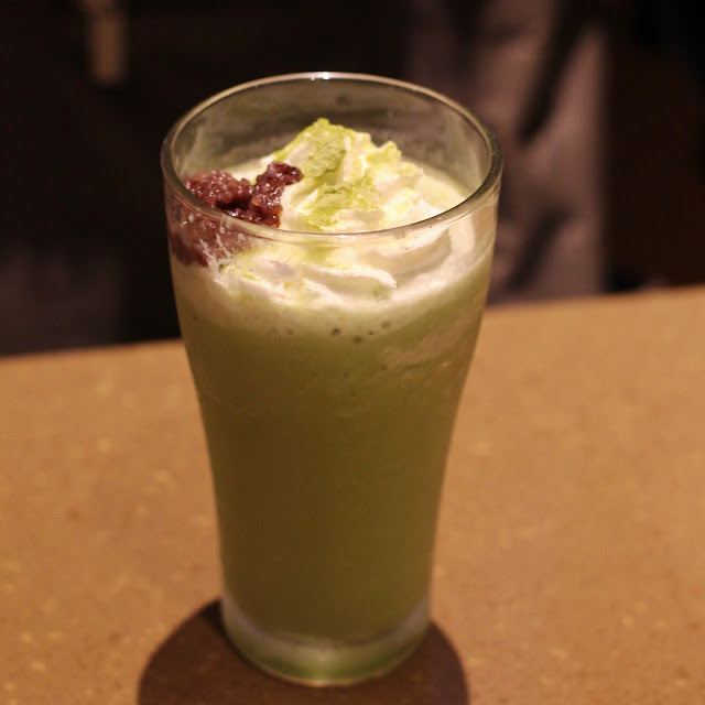 Green Tea Milk Shake
