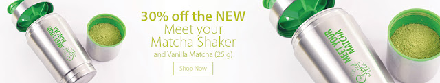 30% off the NEW Meet Your Matcha Shaker - Shop Now