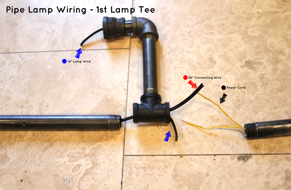 Pendant Lamp Wiring Instructions