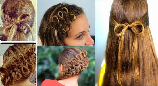 Cute Bow Hairstyle Designs And Ideas For Girls ~ Calgary ...