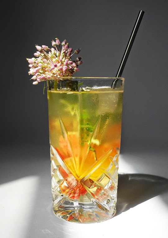 Gastronomista Herbal Stonefruit Sangria