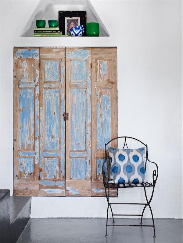detalle mediterraneo para decorar el dormitorio chicanddeco