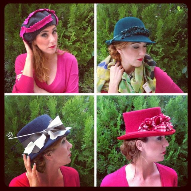 dove poter provare in assoluta libertà cappelli di ogni tipo il tutto in un  ambiente accogliente e profumato..ecco alcuni dei loro pezzi. 8f18650b44bf
