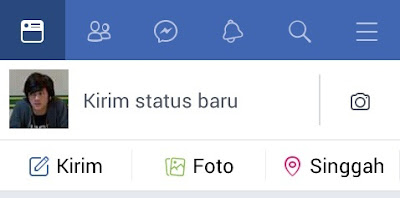 cara mengganti photo profil facebook di lite