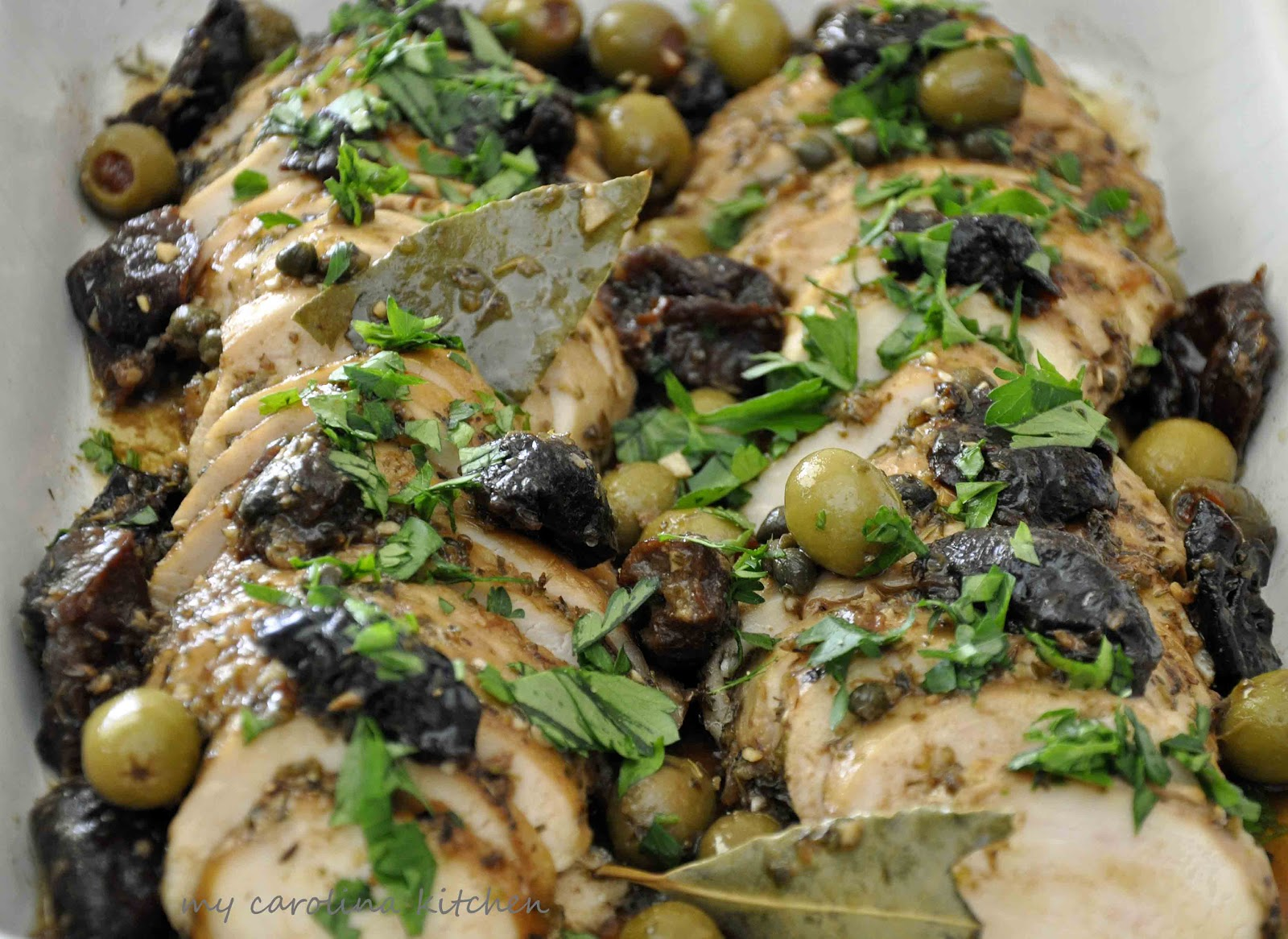 My Carolina Kitchen: Chicken Marbella recreated into ...