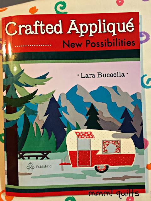 http://www.amazon.com/Crafted-Applique-Possibilities-Lara-Buccella/dp/1604603984/ref=sr_1_1?ie=UTF8&qid=1461546752&sr=8-1&keywords=crafted+applique