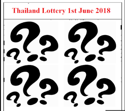 Thai Lottery Final Tips For 01 October 2018