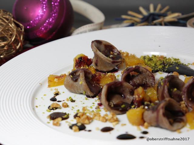 Weihnachtliches Dessert