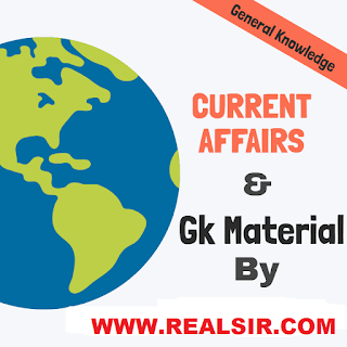 CURRENT AFFAIRS - REALSIIR
