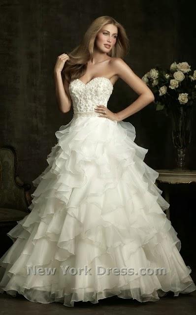 570156306 فساتين عروس 2013 - فساتين زفاف, خطوبة, وسهرة و عبايات