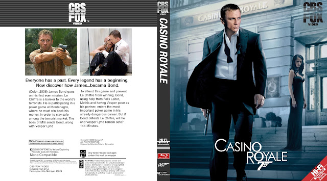 Casino Royale Bluray Cover