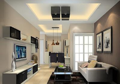 model plafon rumah minimalis