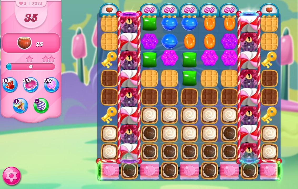 Candy Crush Saga level 7218
