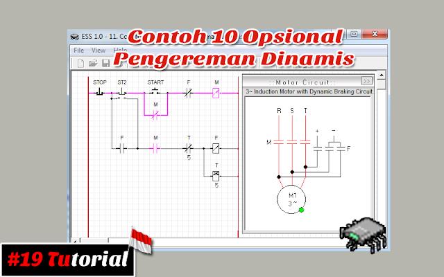 Contoh 10 Opsional pengereman dinamis | Tutorial bahasa Indonesia #19