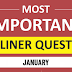 Current Affairs January 2019 one liner for Competitive Exams pdf Download