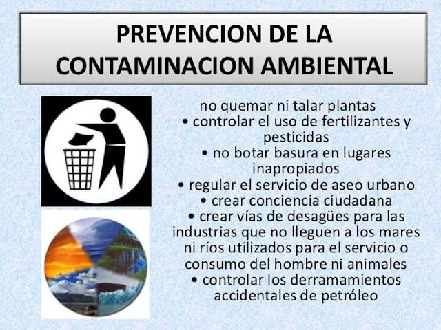 como reducir y controlar la contaminación ambiental
