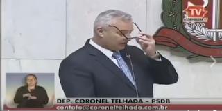 Coronel Telhada coloca discurso medíocre do Secretário de Segurança de São Paulo Benedito Mariano em seu devido lugar
