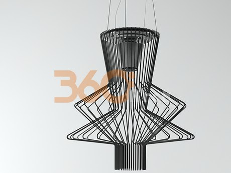 [3D Model Free] Modern lights set 2