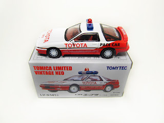 Tomica Limited Vintage NEO LV-N141a 1986 Toyota Supra Pace Car