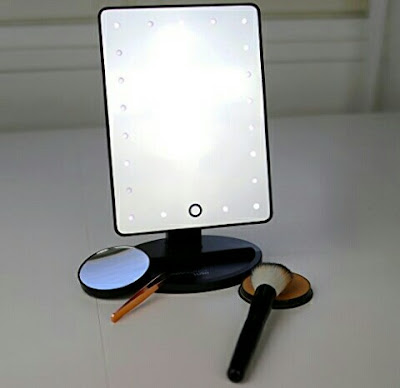 Magnifying Makeup Mirror with LED Lights