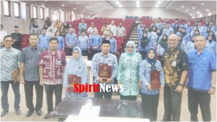 Naisyah Azikin Sekda Makassar, Lantik dan Ambil Sumpah 75 Orang ASN