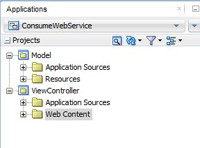 Consuming a SOAP Web Service quickly using Web Service Data Control
