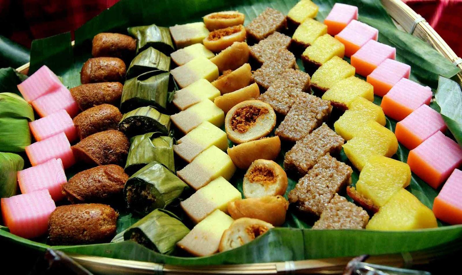 kuih muih malaysia tradisional traditional dessert malay makanan untuk idea desserts kuali hotel yang kacang dengan armada potluck hijau zaman
