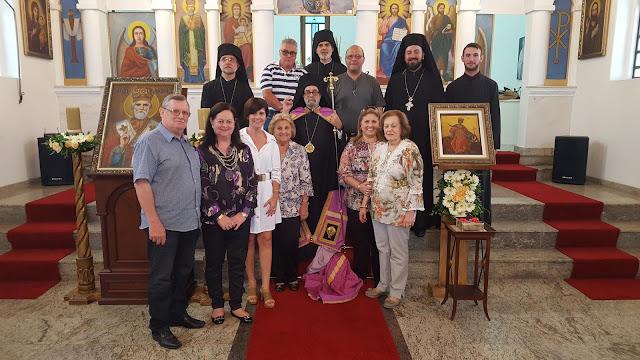 Η μνήμη της Αγίας Αικατερίνης εορτάστηκε στην Βραζιλία