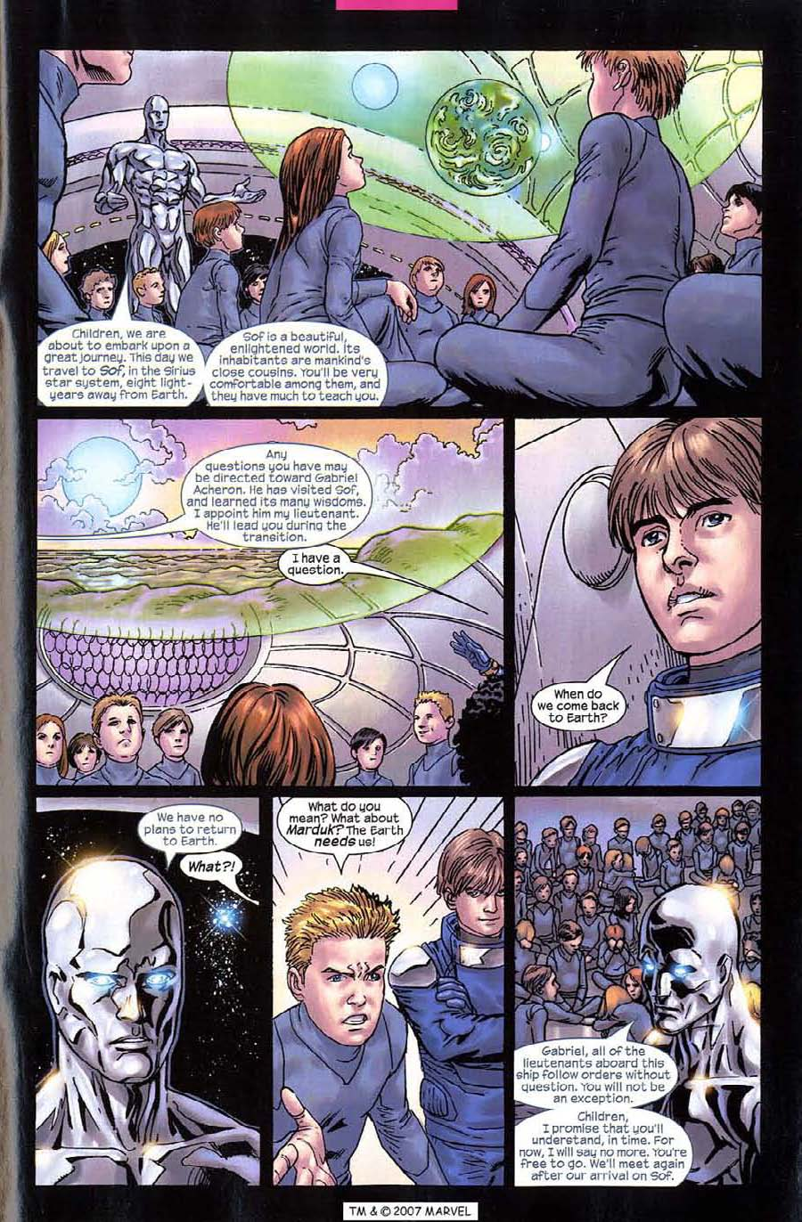 Read online Silver Surfer (2003) comic -  Issue #10 - 27