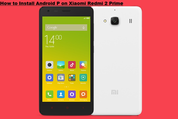 Menus for Xiaomi Redmi 2 Prime