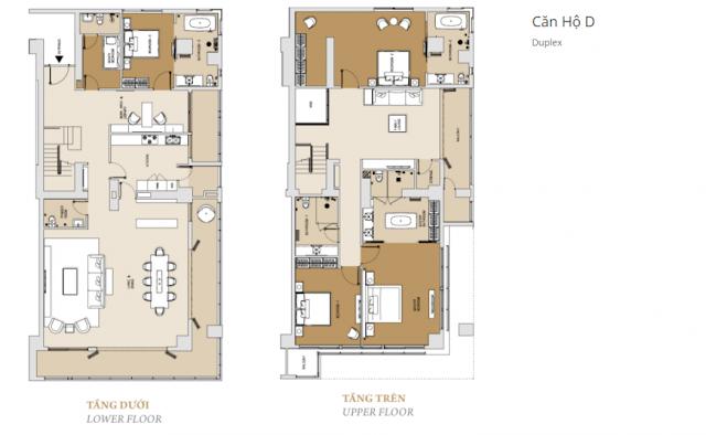 căn hộ duplex tháp Brilliant dự án căn hộ Đảo Kim Cương