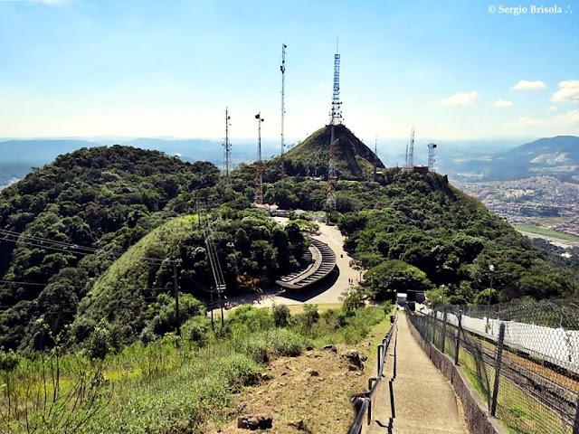 Panoramica do cume do Pico do Jaraguá - São Paulo