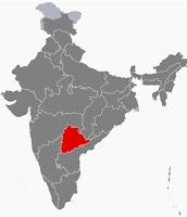 State of Telangana in India
