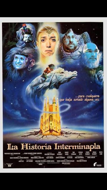 La història interminapla, Cataluña