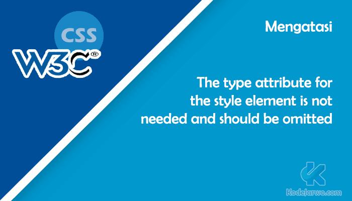 W3C CSS Type
