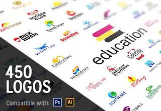 450+ Professional Logo Templates