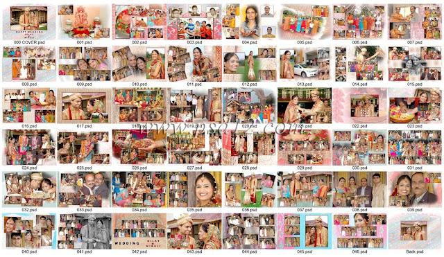 PSD Photo Book Templates
